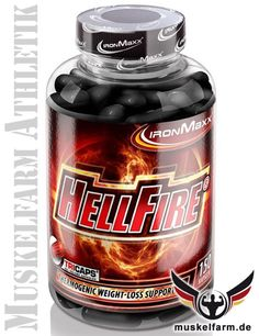IronMaxx Hellfire mit Thermogenetic Burn Formula! #Fettabbau #Diät #Abnehmen #Körperfett #diet #Gewichtsreduzierung #fatburner