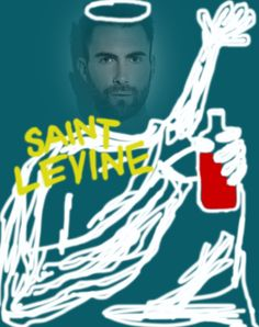 saint levine and his wine-pop religion series by rudy tulang