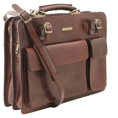 Venezia Leather briefcase 2 compartments Honey TL141268 Business Briefcase, Leather Briefcase, Leather Bags Handmade, Vegetable Tanned Leather, Italian Leather, Tan Leather, Messenger Bag, Dust Bag, Satchel