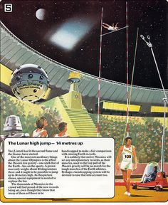 The Olympic Games, Year 2020... on the moon? Haha!