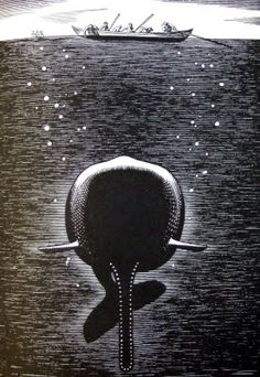 ROCKWELL KENT - MOBY DICK ILLUSTRATIONS