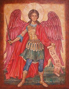 Saint Michael the Archangel by ~Victoria-Poloniae on deviantART
