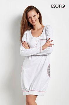 Koszula nocna firmy Esotiq http://ekskluzywna.pl/bielizna-nocna-damska