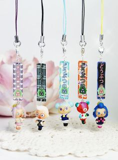 animal crossing villagers Keychain, I will totally  Buy all of them on my  Birthday.