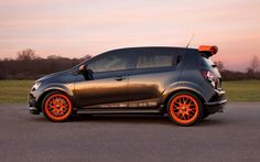 pimped out chevy sonic | 2011 Detroit: Chevrolet Sonic, Tuned Z-Spec Revealed - Motor Trend WOT