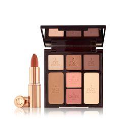 Lipstick Palette, Rose Lipstick, Eye Palette, Makeup Palette, Charlotte Tilbury Stoned Rose, Charlotte Tilbury Makeup, Cheek Makeup, Makeup Set, Dru Hill