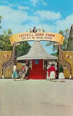 Catskill Game Farm....great childhood memories here....not sure if it is still open.
