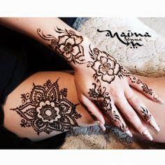 Henné Mandala,  création Naïma Henna  Tatouage au henné naturel avec Naïma Henna Bordeaux, pour un RDV visitez mon site web :-)
