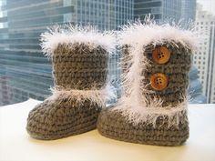 Crochet Toddler Boots Pattern- 30 Easy Fast Crochet Slippers Pattern | DIY to Make