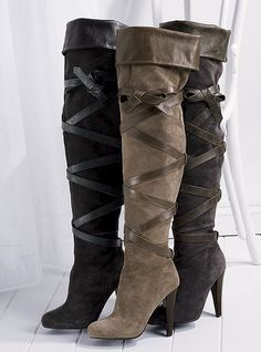 Love over the knee boots!