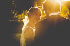 Barcelona Garden Wedding with a Navy Theme: Julieta & Christian · Rock n Roll Bride