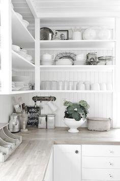 дневник дизайнера: Белая романтика деревенской кухни!