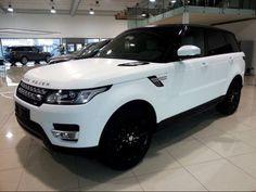 Matte White Range Rover Sport