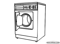 colouring in washing machine - Google Search