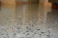 Hiperfloor VS Grind and Seal Residential Polished Concrete Floors, Terrazzo, How To Dry Basil, Herbs, Home Decor, Decoration Home, Room Decor, Herb, Spice