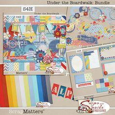 Under the Boardwalk Bundle by Snips and Snails Designs