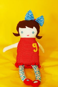 cute and easy doll pattern ..free