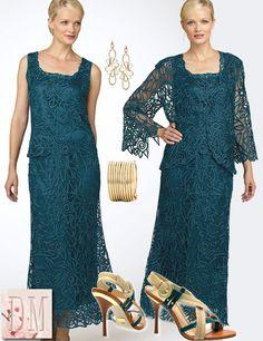Vestidos de renda para senhoras