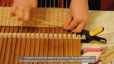 Плетение веревочкой (укладка петель)
