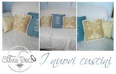 cuscini e restyling divano