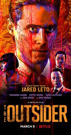 "Directed by Martin Zandvliet.  With Jared Leto, Tadanobu Asano, Kippei Shîna, Shioli Kutsuna. An epic set in post-WWII Japan and centered on an American former G.I. who joins the yakuza. ""Solid story of betrayal, honor and revenge, and decent performances make this bloody crime thriller worth a watch."""