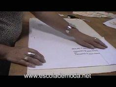 Molde Grátis - Blusa de malha (1/2) - YouTube