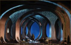 """Cunning Little Vixen"" Set Design by Robert Innes Hopkins"