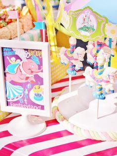 Vintage Disneyland Amusement Park Party