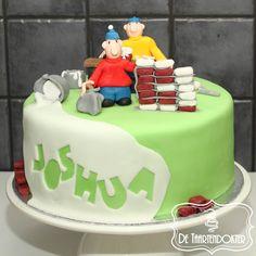 A Pat and Mat cake!   Buurman en buurman taart