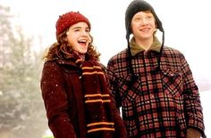 You got: Hermione and Ron You're smart and funny at the same time. Above all, you're a super loyal friend. You probably contradict yourself sometimes, seeing as Ron and Hermione are pretty opposite, but that's okay.