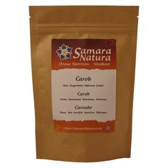 Carob-Pulver Samara, Nutrition, Cacao Powder, Calories, Superfoods, Natural, Pure Products, Coffee, Drinks
