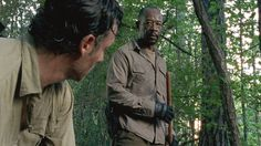 Most talked about scene, S6 E1: Rick must make a quick decision to prevent Carter from luring the walkers to their hideout.