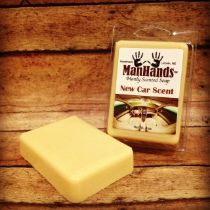 New Car Scent Soap by Man Hands