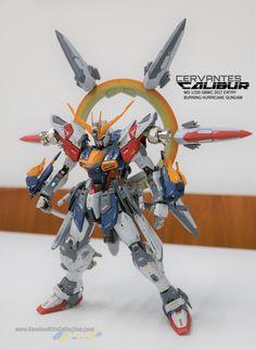 Custom Build: MG 1/100 Burning Hurricane Gundam [GBWC 2017] - Gundam Kits Collection News and Reviews