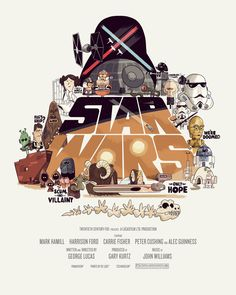 Star Wars Comic Poster Alternatives A New Hope