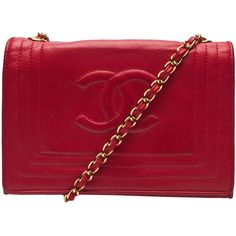 CHANEL VINTAGE small flap bag ($2,380) ❤ liked on Polyvore