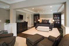 Master Bedroom/ love the sitting area in the Master Bedroom