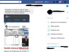 ¿ Sabe usted de cuanto es el sueldo del Alcalde de Valle de Chalco ? – Lopeztiana Noticias 📰