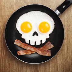 Stampo per uova - Teschio
