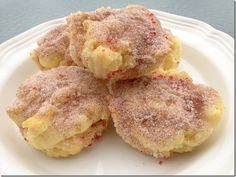 GF Cinnamon sugar biscuits... might have to give this recipe a shot!