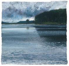 Goose Honk, Stillness by Kurt Jackson