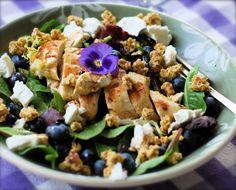 blueberry crunch chicken salad
