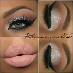 Gorgeous glitter look by @theamazingworldofj using ALL Motives Cosmetics -Eye Base Pressed Eyeshadows in -Caramel -Vino -Blizzard -Glitter Base -Glitter Pot in Celebrate -Gel Eyeliner LBD -Matte Lipstick in Tender  ____________________________________________ All #motives products are available for US/CAN at www.MOTIVESCOSMETICS.com or internationally at Global.Shop.com #motd #motivescosmetics #makeup #beauty #glam #mua