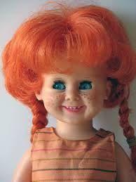 Znalezione obrazy dla zapytania bambole capelli rosso