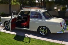 1963 VW Type 3 Notchback  http://bringatrailer.com/2012/03/08/notched-perfection-1963-volkswagen-type-3/