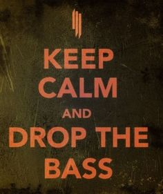 When in doubt... DROP THE BASS!!!