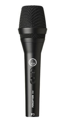 AKG P3 S  40 - 20000 Hz XLR-3 Verkabelt Cardioid 51 x 190 mm     #AKG #AKGP3S #Mikrofone  Hier klicken, um weiterzulesen.