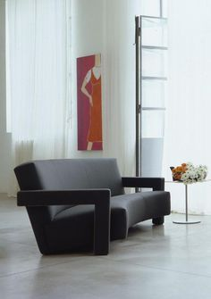 UTRECHT sofa designed by Gerrit Thomas Rietveld :: 1935 :: now manifactured by Cassina