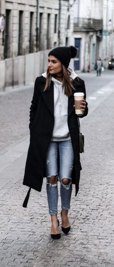 22 super comfortable outfits for students - fashion and outfit trends - 22 Super bequeme Outfits für Studenten - Mode Und Outfit Trends 22 super comfortable outfits for students Fall Outfits 2018, Mode Outfits, Fall Winter Outfits, Winter Dresses, Autumn Winter Fashion, Fashion Outfits, Fashion Trends, Fall Fashion, Dress Winter