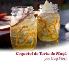 Canela, Baunilha e Caramelo adoçam esse coquetel criado por Guy Fieri.